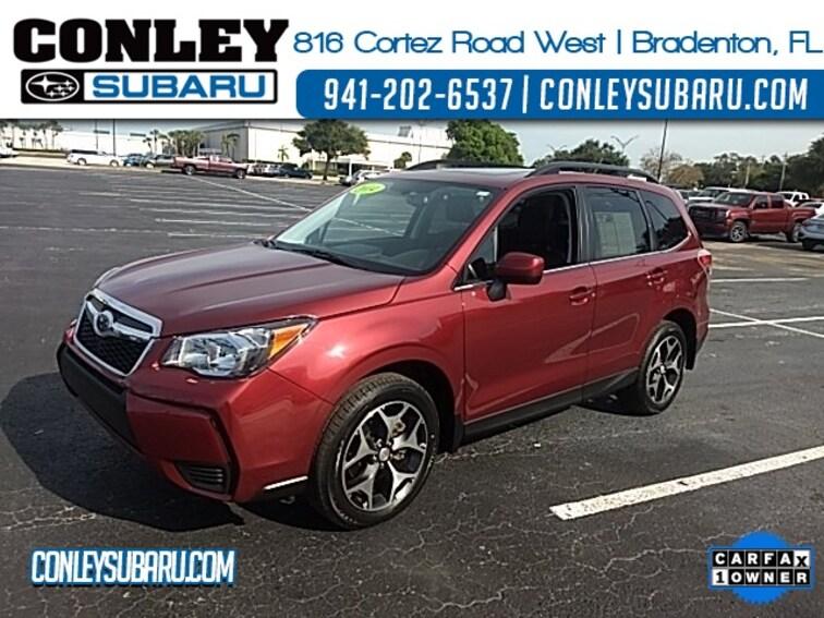 Certified 2014 Subaru Forester 2.0XT Premium SUV For Sale in Bradenton, FL