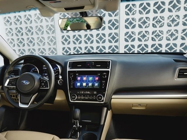 New Subaru Legacy Interior and Technology