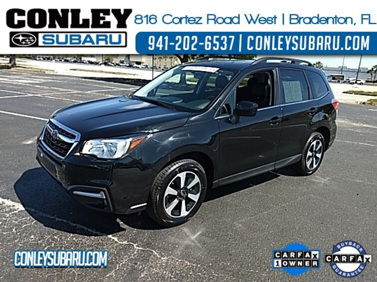Certified 2018 Subaru Forester 2.5i Limited SUV For Sale in Bradenton, FL