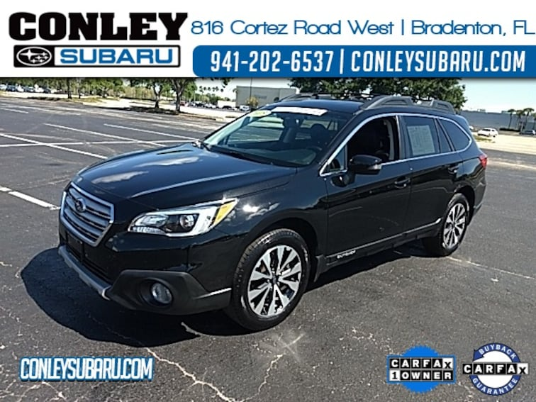 Certified 2015 Subaru Outback 2.5i SUV For Sale in Bradenton, FL