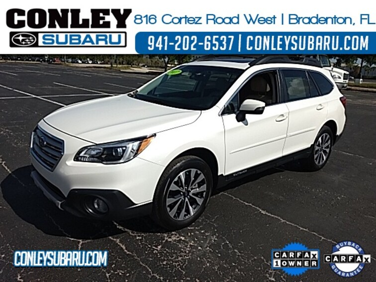 Certified 2017 Subaru Outback 2.5i SUV For Sale in Bradenton, FL