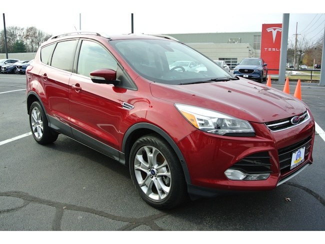 Used 2014 Ford Escape Titanium SUV for sale in Milford, CT at Connecticut's Own Volvo