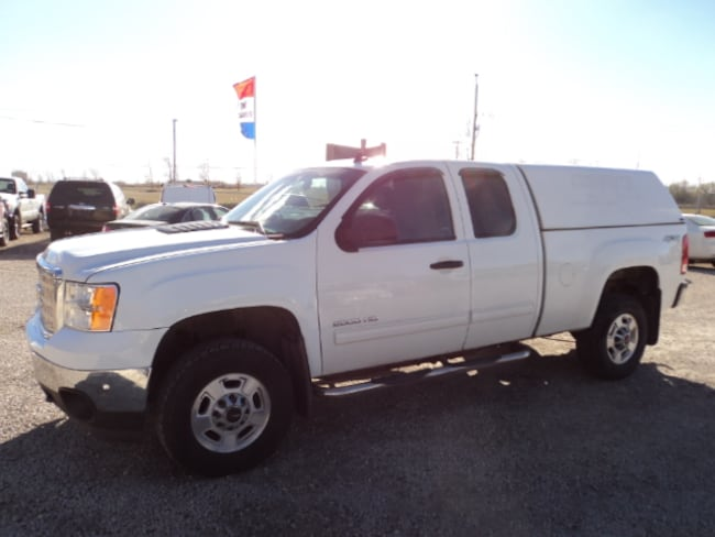2012 GMC Sierra 2500HD Ext Cab 4x4 6.5 ft box Extended Cab