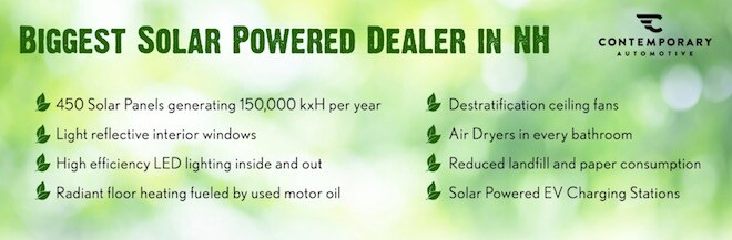 Eco-conscious car dealer in Milford NH