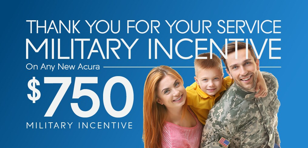 Acura Military Incentive