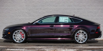 Audi S7 in Dark Red Mica with Cognac and Albastar white exclusive interior (SOLD in WI)