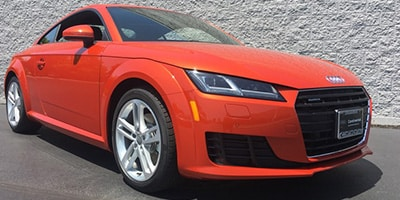 Audi TT Coupe - TT Coupe in Coral Orange Metallic (SOLD in KY)