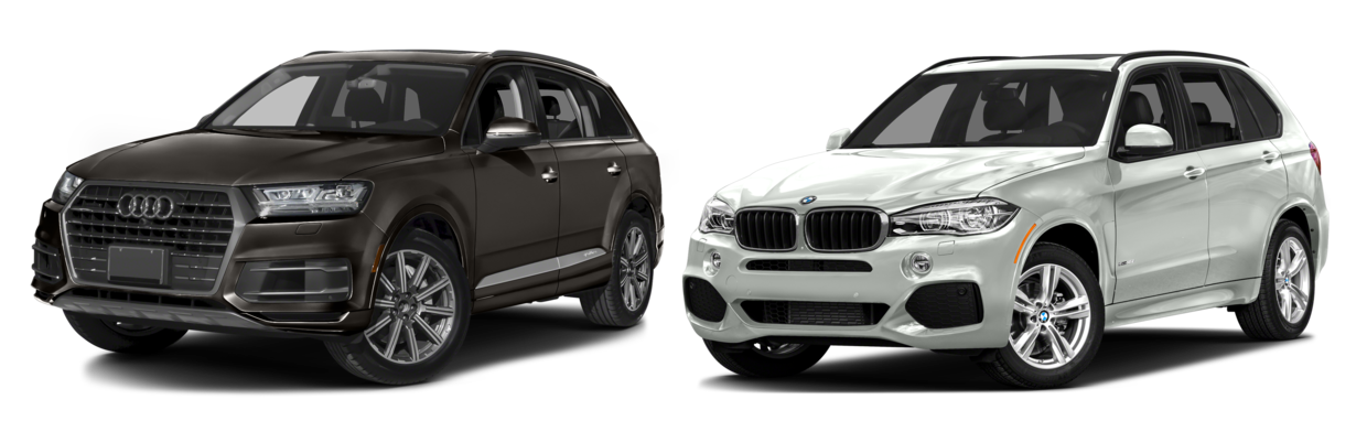 how the 2017 audi q7 compares to the 2016 bmw x5. Black Bedroom Furniture Sets. Home Design Ideas
