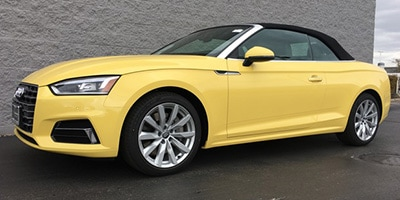 Audi A5 - A5 Cabriolet in Toucan Yellow (SOLD in IL)