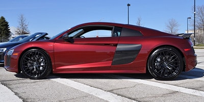 R8 V10 Plus Coupe in Rubino Red Metallic (SOLD in CT)