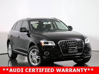 Audi Q5 Seating Capacity >> Certified 2017 Audi Q5 For Sale Naperville Il 2k094a