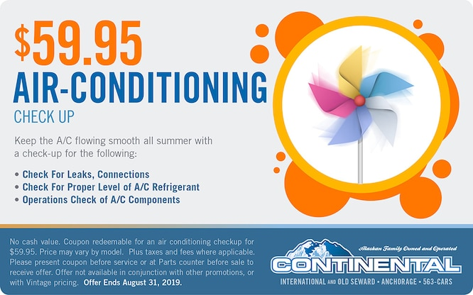 Specials | Continental Nissan Of Anchorage