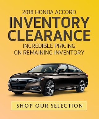 Accord Inventory Clearance