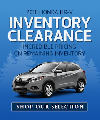 HR-V Inventory Clearance
