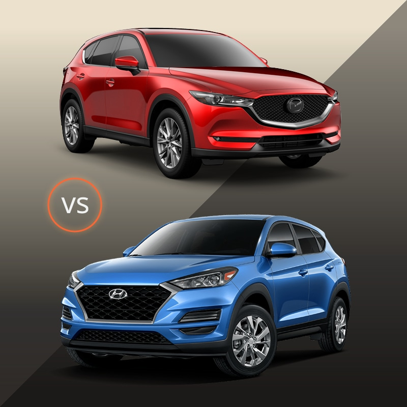 CX-5 vs Tucson