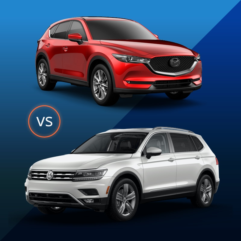 CX-5 vs Tiguan
