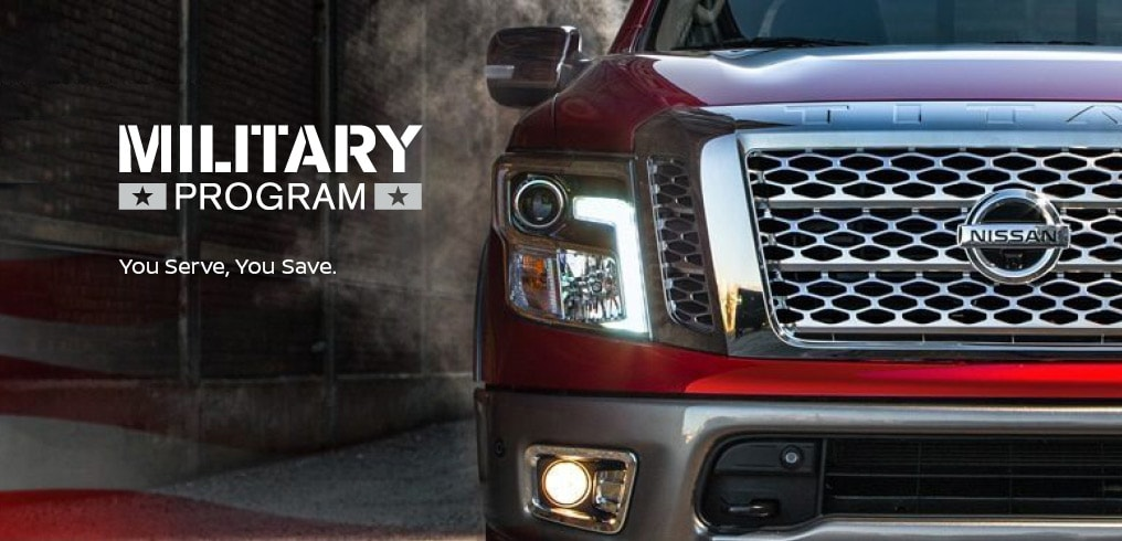 Nissan Military Incentive