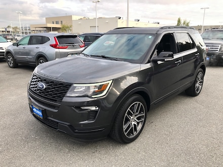 Used 2019 Ford Explorer Sport SUV for sale in Anchorage, AK