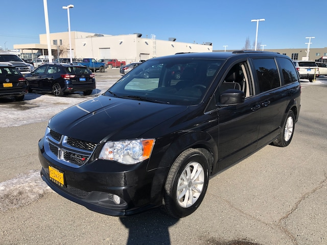 Featured Used 2019 Dodge Grand Caravan SXT Van Passenger Van for Sale near Eagle River, AK