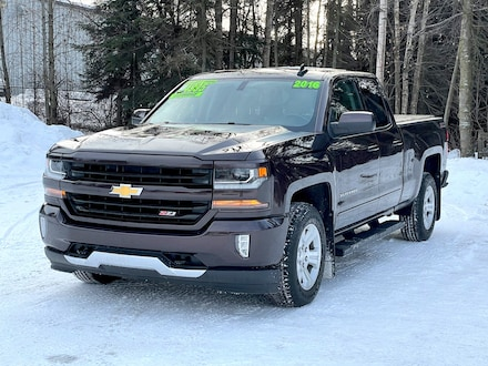 Used 2016 Chevrolet Silverado 1500 LT Truck Double Cab for sale in Anchorage, AK