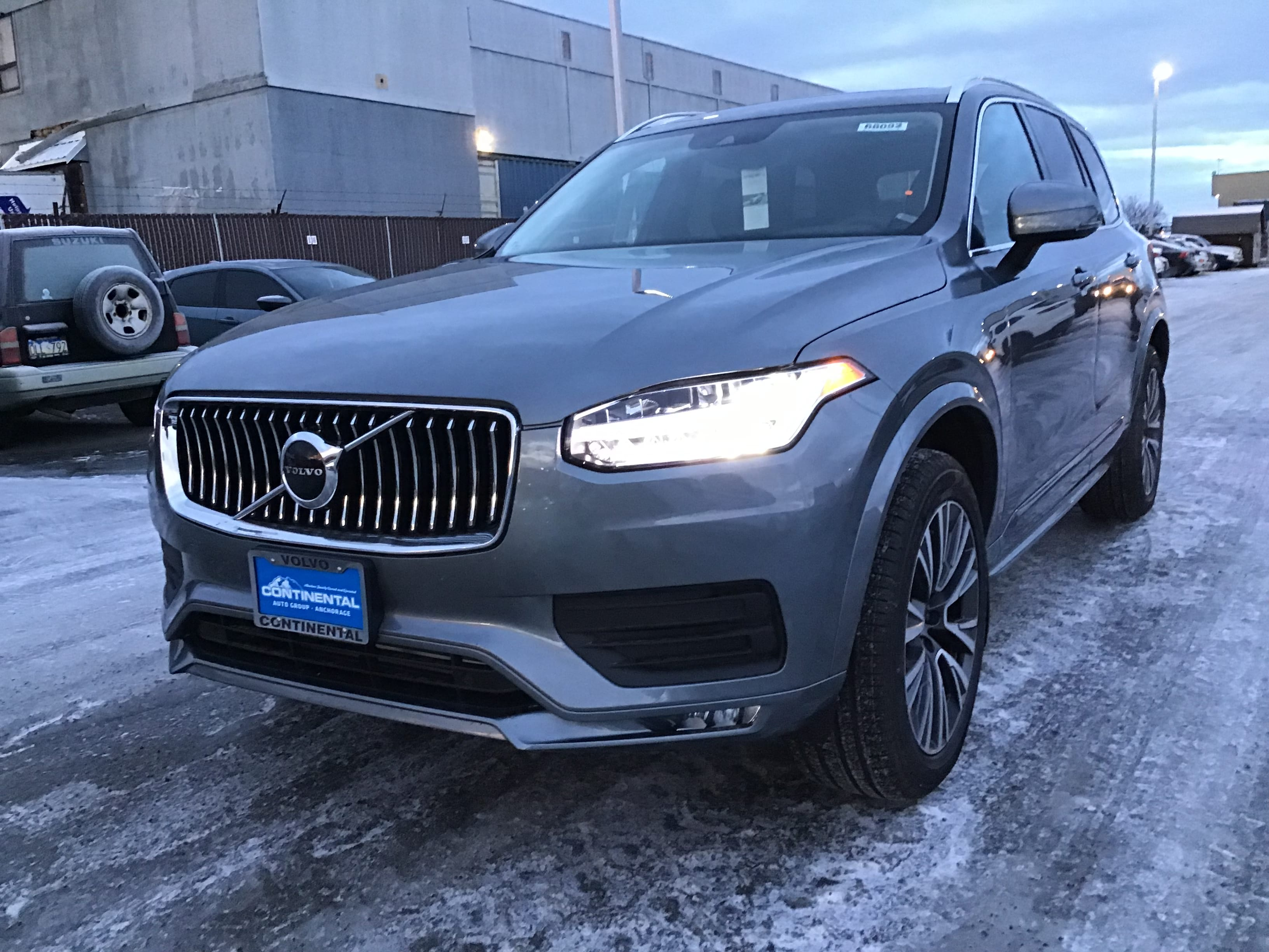 Featured New 2020 Volvo XC90 T5 Momentum 7 Passenger SUV for Sale in Anchorage, AK