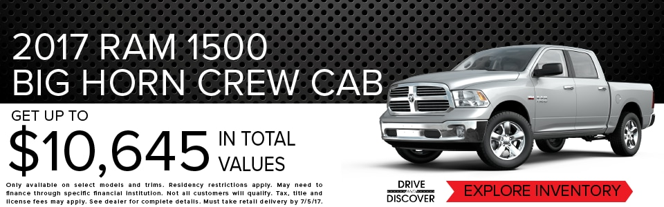 conway chrysler dodge jeep ram new and used dealership in conway sc serving myrtle beach. Black Bedroom Furniture Sets. Home Design Ideas