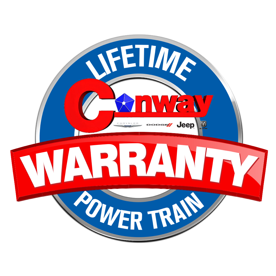 Lifetime Conway Power Train Warranty