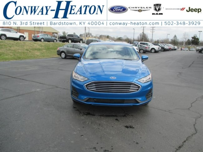 New 2019 Ford Fusion For Sale at Conway Heaton Inc  | VIN