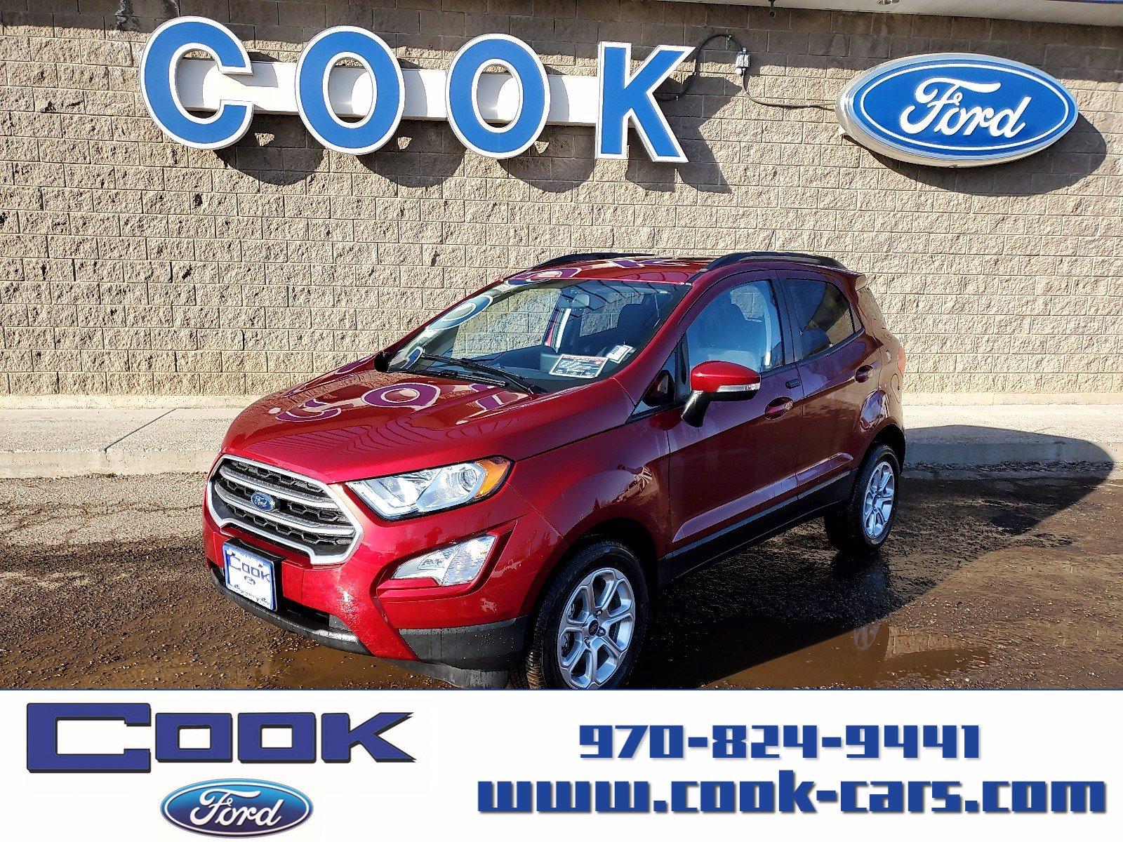2020 Ford EcoSport SE SE 4WD