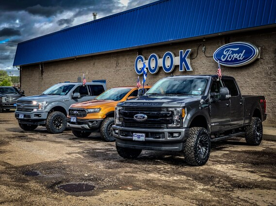 Cooks Car Company >> Cook Custom Trucks Cook Ford Inc