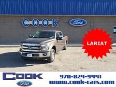 2016 Ford F-150 Lariat Truck SuperCrew Cab
