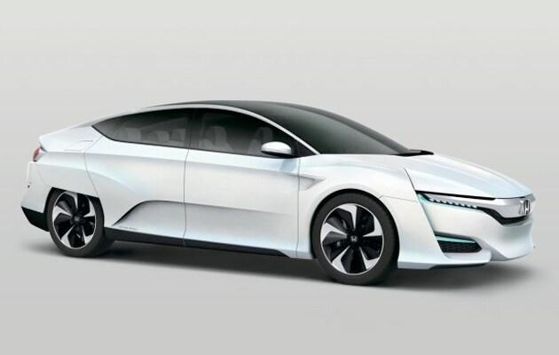 Hydrogen Honda FCV
