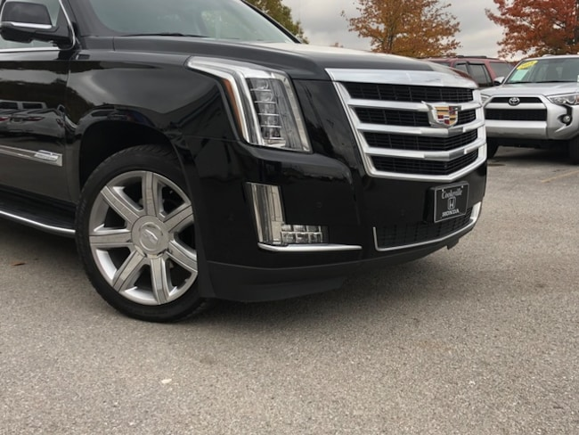 Used 2018 Cadillac Escalade Esv 19t10535 For Sale Cookeville Near