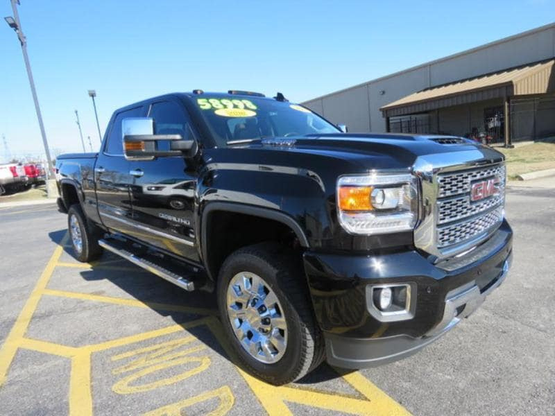 2018 GMC Sierra 2500HD Denali Crew Cab Short Bed Truck