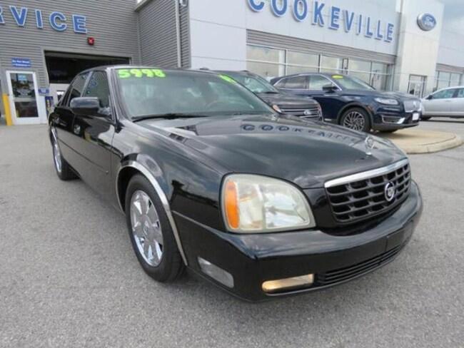 2003 Cadillac Deville DTS Sedan
