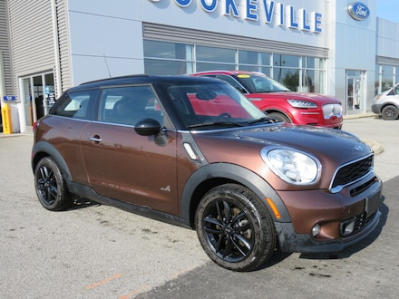 2013 MINI Cooper Paceman AWD  S ALL4 Coupe
