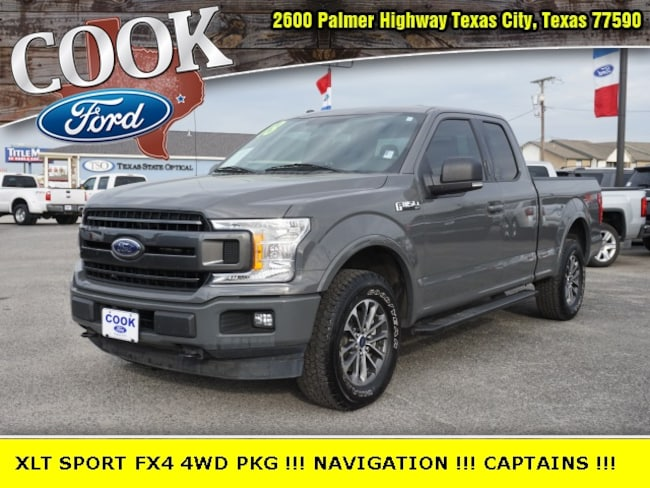 2018 Ford F-150 XLT Extended Cab Short Bed Truck