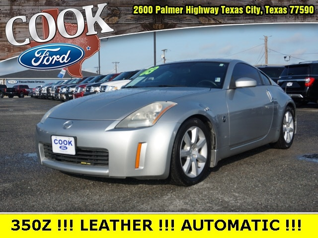 Used 2003 Nissan 350z For Sale At Cook Ford Vin Jn1az34e73t004389