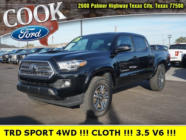 2016 Toyota Tacoma TRD Sport Crew Cab Short Bed Truck