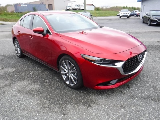 New 2019 Mazda Mazda3 Premium Package Sedan in Aberdeen