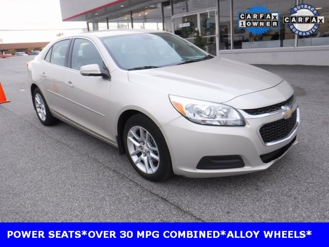 Used 2015 Chevrolet Malibu LT w/1LT Sedan Near Baltimore