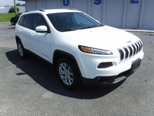 Used 2016 Jeep Cherokee Latitude 4x4 SUV in Aberdeen