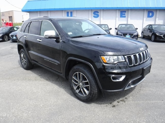 Used 2017 Jeep Grand Cherokee Limited 4x4 SUV in Aberdeen