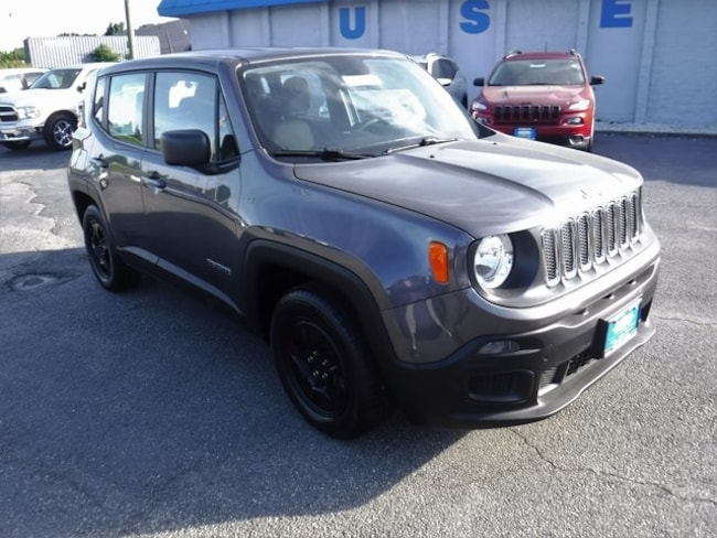 Used 2017 Jeep Renegade Sport SUV in Aberdeen