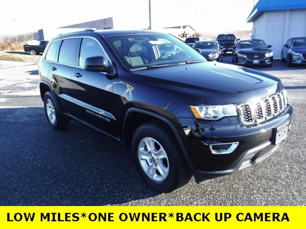 Used 2017 Jeep Grand Cherokee Laredo 4x4 For Sale | Aberdeen