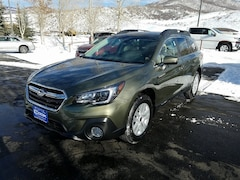 New 2019 Subaru Outback 2.5i Premium SUV 4S4BSAHC1K3259391 in Steamboat Springs, CO
