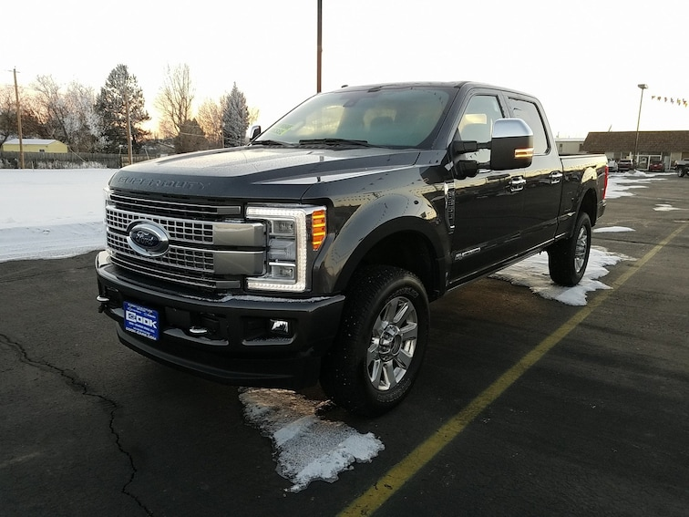 Used 2017 Ford Super Duty F-350 SRW Platinum Steamboat Springs, CO