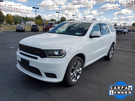 Featured Used 2019 Dodge Durango GT Plus SUV for Sale in Steamboat Springs, CO