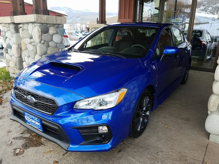 New 2019 Subaru WRX Sedan Steamboat Springs, CO