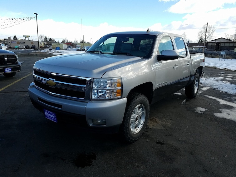 Used 2009 Chevrolet Silverado 1500 LTZ 4WD Crew Cab 143.5 LTZ Steamboat Springs, CO